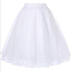 Women's Petticoat Crinoline 50's Tutu Underskirts